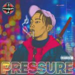 Mugun is the samurai that tampers with the sound on 'Pressure'