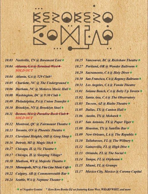 Kero Kero Bonito american tour
